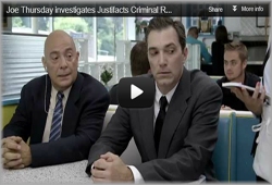 Joe Thursday Investigates Justifacts Criminal Record and Background Screening Services