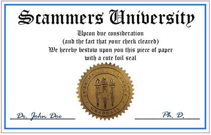 Common Signs That Your Candidate's Diploma is Fake | Fake Degree