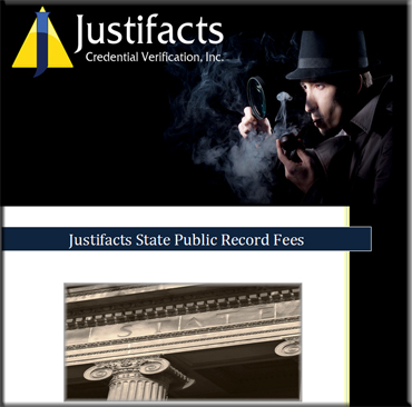 State Public Record Fees Download