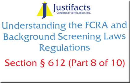 FCRA Section 612