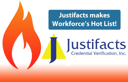 Justifacts makes Workforce Magazine Hot List