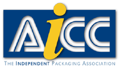"AICC logo. ""The independent packaging assocation"""