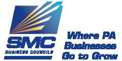 """SMC Business Councils Logo. """"Where PA businesses go to grow"""""""